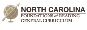 Foundations of Reading and General Curriculum Tests for North Carolina